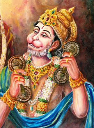ramayanam hanuman god buddha indian paintings